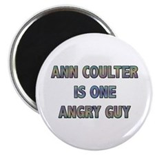 Ann Coulter Angry Guy Magnet