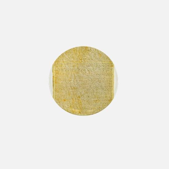 Magna Carta text Mini Button