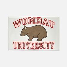 Wombat University III Rectangle Magnet