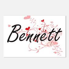 Bennett Artistic Design w Postcards (Package of 8)