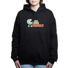 Here Comes Trouble Women's Hooded Sweatshirt