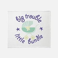 Little Bundle Throw Blanket