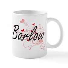 Barlow Artistic Design with Hearts Mug