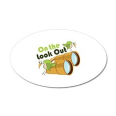 Look Out Wall Decal