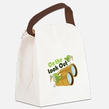 Look Out Canvas Lunch Bag