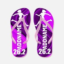 Love Marathons Flip Flops