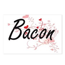 Bacon Artistic Design wit Postcards (Package of 8)