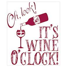 Wine OClock Poster
