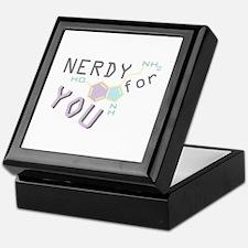 Nerdy For You Keepsake Box