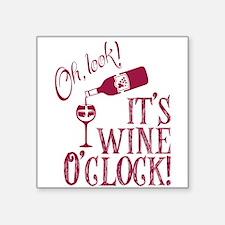 Wine OClock Sticker