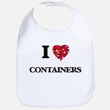 I Love Containers Bib