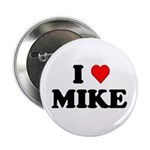 """I Love Mike 2.25"""" Button (10 pack)"""