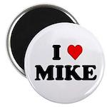 "I Love Mike 2.25"" Magnet (100 pack)"
