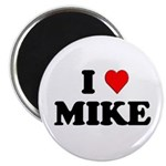 "I Love Mike 2.25"" Magnet (10 pack)"