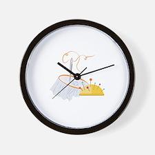 Needlework Wall Clock