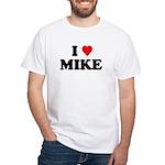 I Love Mike White T-Shirt