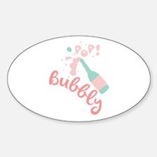 Champagne Bubbly Decal