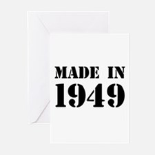 Made in 1949 Greeting Cards