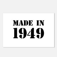 Made in 1949 Postcards (Package of 8)