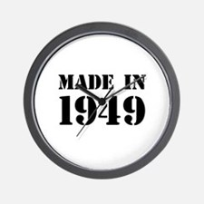 Made in 1949 Wall Clock