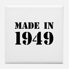 Made in 1949 Tile Coaster