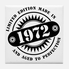 LIMITED EDITION MADE IN 1972 Tile Coaster