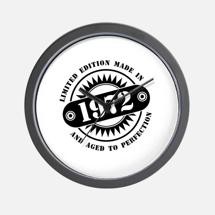 LIMITED EDITION MADE IN 1972 Wall Clock