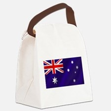 Flag of Australia Canvas Lunch Bag