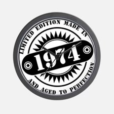 LIMITED EDITION MADE IN 1974 Wall Clock
