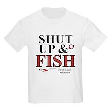 Sauk Lake Shut Up & Fish T-Shirt