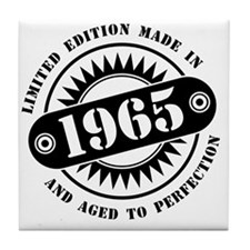 LIMITED EDITION MADE IN 1965 Tile Coaster