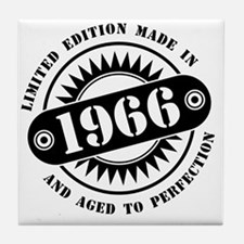 LIMITED EDITION MADE IN 1966 Tile Coaster