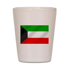 Flag of Kuwait Shot Glass