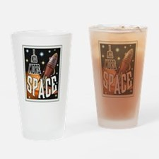I NEED MORE SPACE Drinking Glass