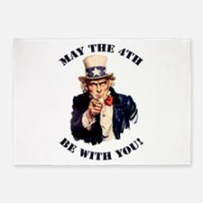 Uncle Sam 5'x7'Area Rug