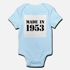 Made in 1953 Body Suit