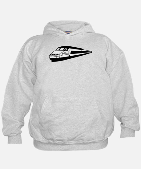 train tgv locomotive Hoodie