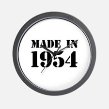 Made in 1954 Wall Clock