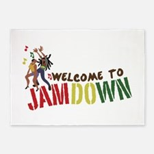 Welcome to Jamdown 5'x7'Area Rug