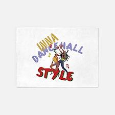 Inna Dancehall Style 5'x7'Area Rug