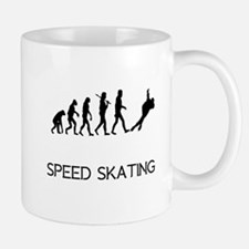 Speed Skating Evolution Mugs