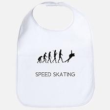 Speed Skating Evolution Bib