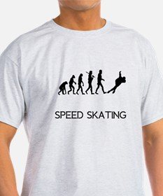 Speed Skating Evolution T-Shirt
