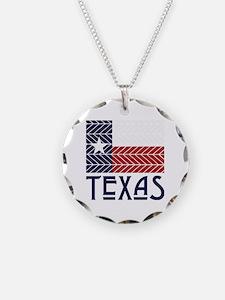 Chevron Texas Necklace