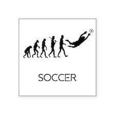 Soccer Goalie Evolution Sticker
