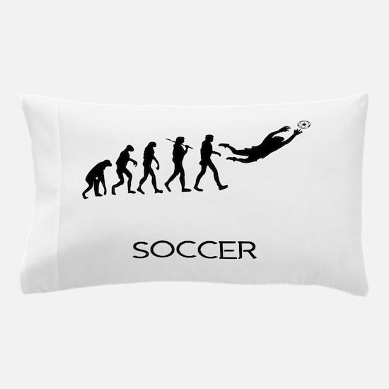 Soccer Goalie Evolution Pillow Case