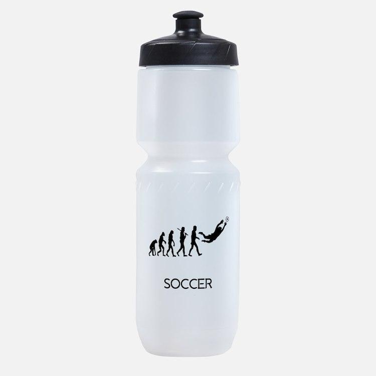 Soccer Goalie Evolution Sports Bottle