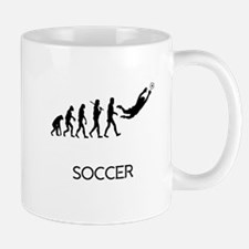 Soccer Goalie Evolution Mugs