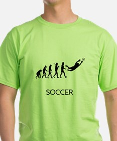 Soccer Goalie Evolution T-Shirt
