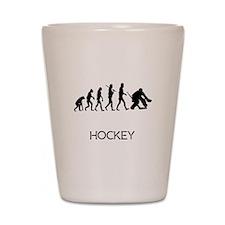 Hockey Goalie Evolution Shot Glass